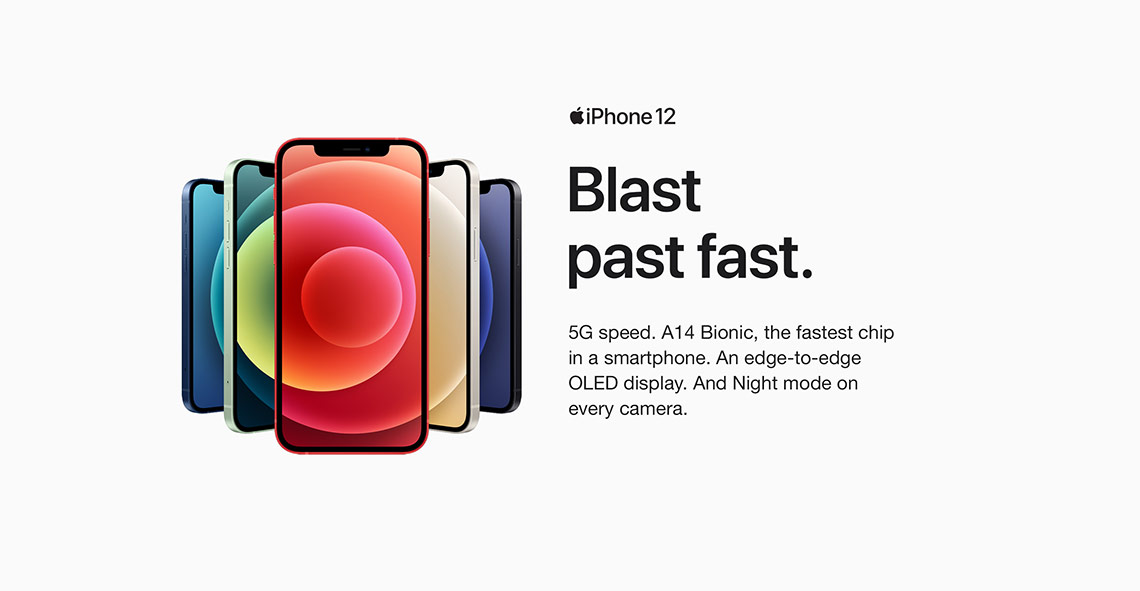 apple iphone 12 features