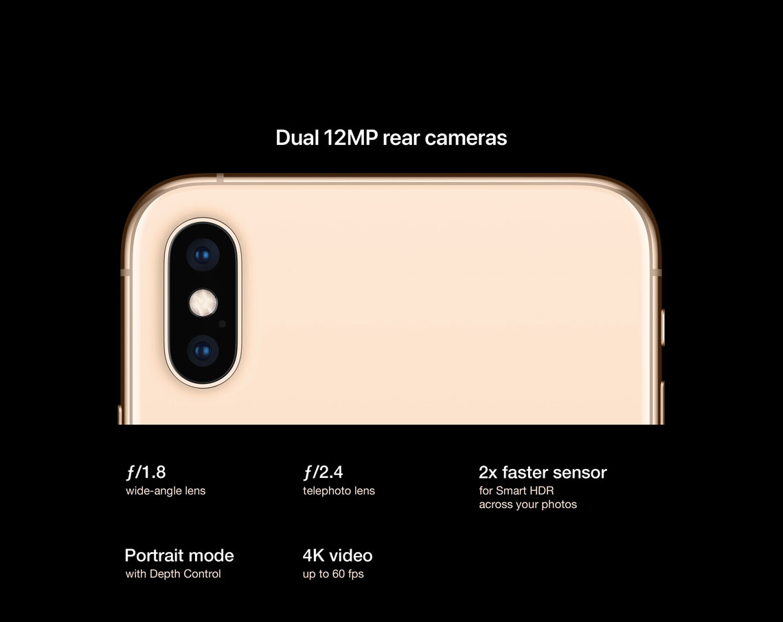 Apple iPhone XS Max Features, Specs | StarHub Singapore