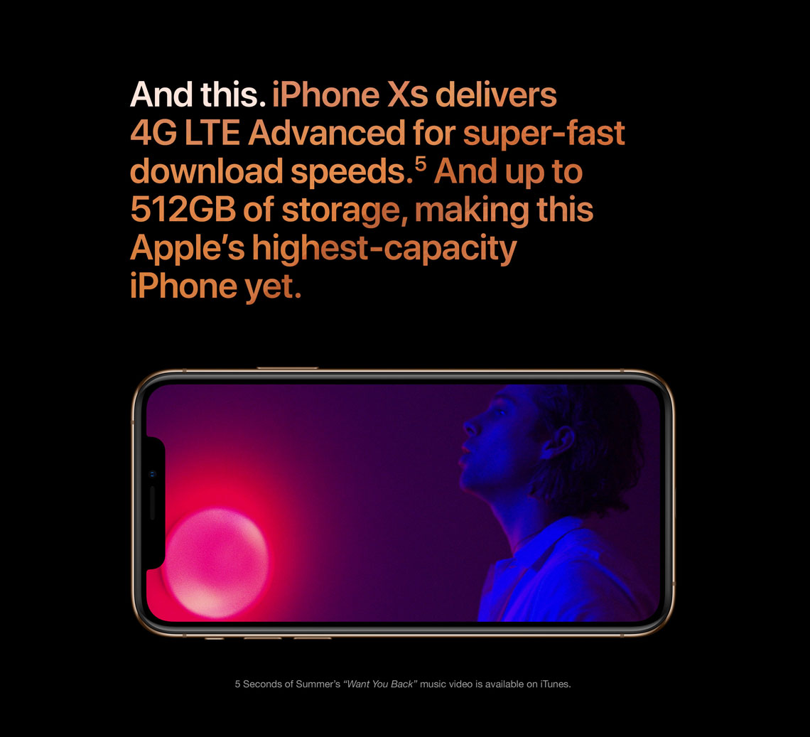 Apple iPhone XS Max Features, Specs   StarHub Singapore