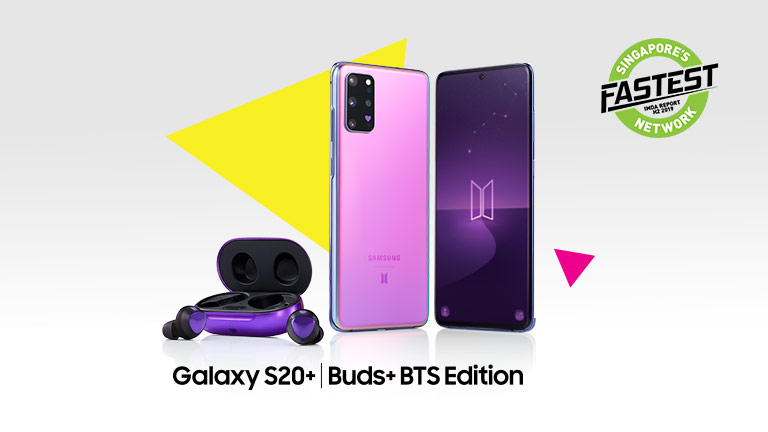 Pre-order the Galaxy S20+ BTS Edition