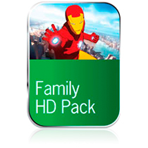 Family HD Pack