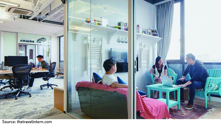 Small space big ideas office revamping starhub - Small spaces big ideas plan ...