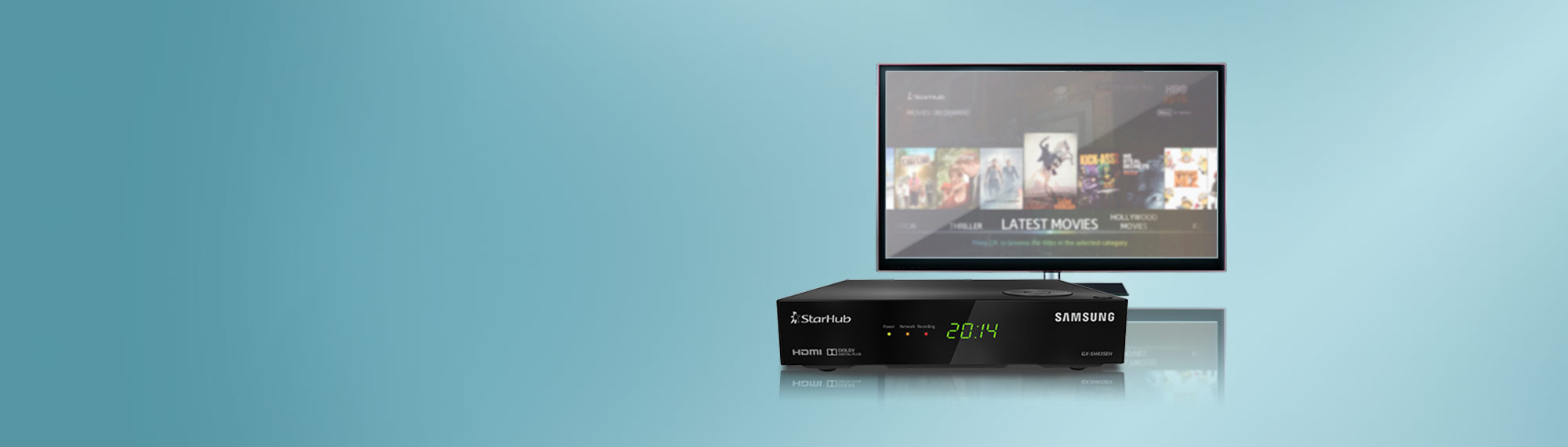 fibre tv set top box