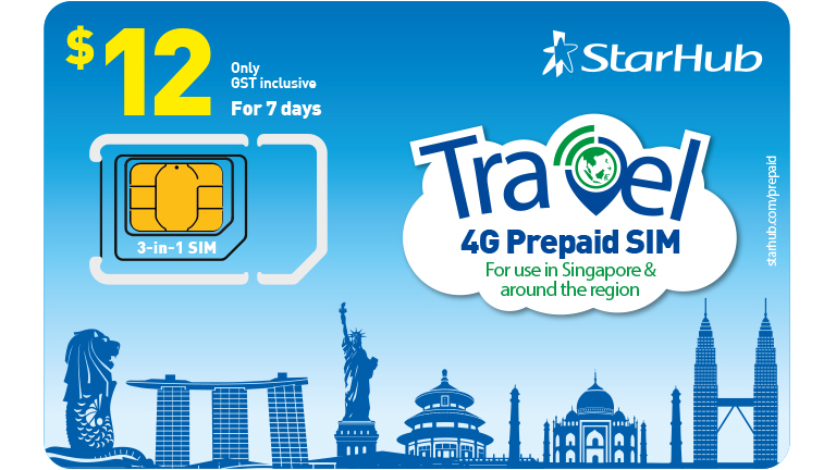 Travel Prepaid SIM Cards | StarHub Mobile
