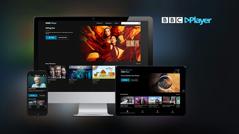streaming tv with bbc player