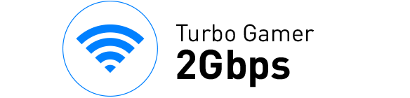 turbo gamer 2gbps