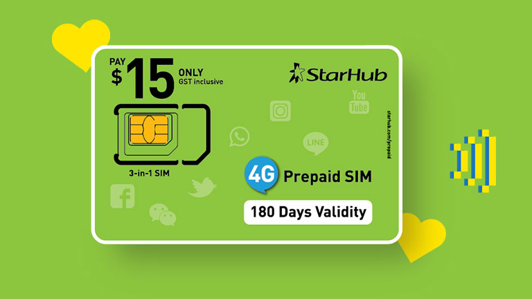 Happy Prepaid Sim Cards Starhub Mobile