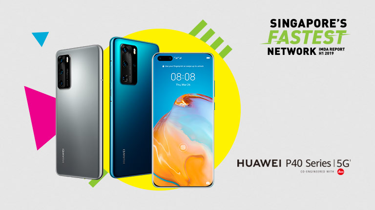Enjoy extra 20GB with HUAWEI P40 series